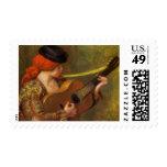 Mujer española joven por Renoir, arte del Envio