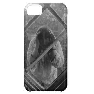 Mujer extraña atrapada en iPhone Funda Para iPhone 5C