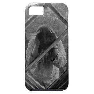 Mujer extraña atrapada en iPhone Funda Para iPhone SE/5/5s