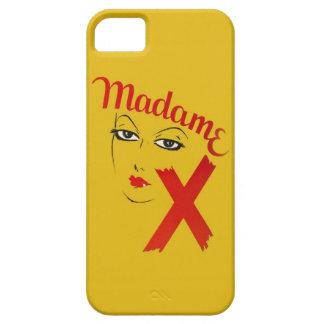 Mujer gráfica intrépida de la película de cine de iPhone 5 carcasa