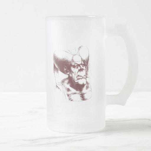 mujer grotesca tazas