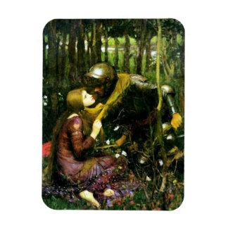 Mujer hermosa del Waterhouse sin el imán de la mis