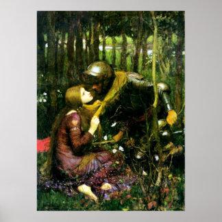 Mujer hermosa del Waterhouse sin el poster de la m