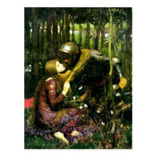 Mujer hermosa del Waterhouse sin la postal de la m