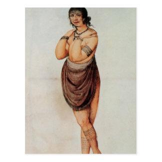 Mujer india postales