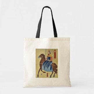 Mujer inglesa que goza por Utagawa, Yoshitora Bolsas De Mano