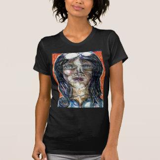 Mujer internacional del misterio camiseta