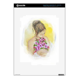 Mujer iPad 3 Skin
