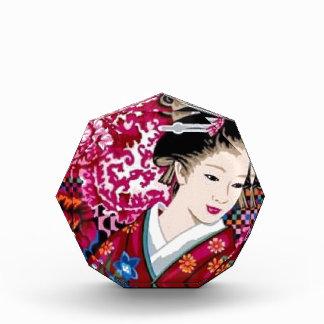 Mujer japonesa en kimono