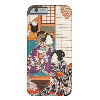 Mujer japonesa Maiko de la señora del geisha de la Funda De iPhone 6 Barely There