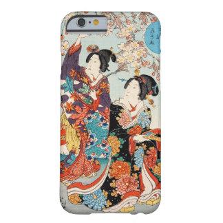 Mujer japonesa Maiko de la señora del geisha de la Funda Para iPhone 6 Barely There