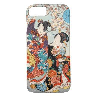 Mujer japonesa Maiko de la señora del geisha de la Funda iPhone 7