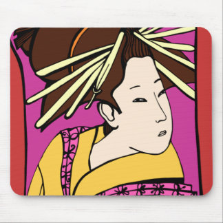 MUJER JAPONESA MOUSE PAD