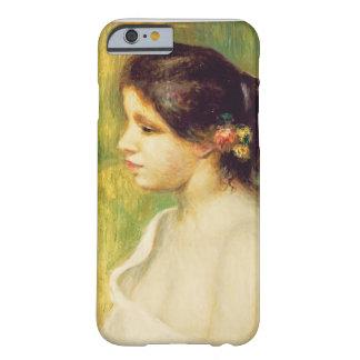 Mujer joven con las flores en su oído, 1898 funda para iPhone 6 barely there