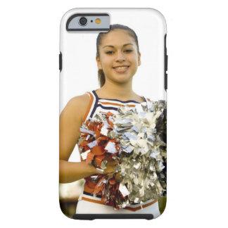 Mujer joven en animar el uniforme funda de iPhone 6 tough