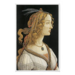 Mujer joven en el modo mitológico, C. 1480-85 Impresiones
