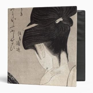 Mujer joven que aplica el maquillaje, c.1795-96