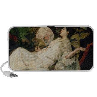 Mujer joven que fuma, 1894 iPod altavoces