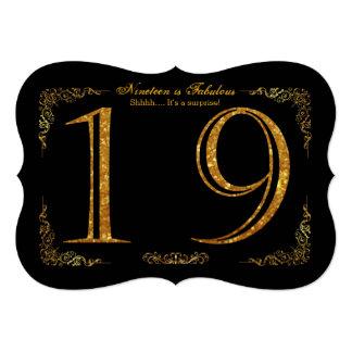 """Mujer man10-99, número de DIY, texto, fondo del Invitación 5"""" X 7"""""""