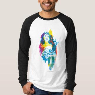 Mujer Maravilla 1 colorido Camisas