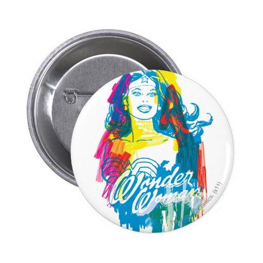 Mujer Maravilla 1 colorido Pins