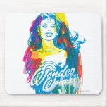 Mujer Maravilla 1 colorido Tapete De Raton