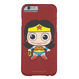 Mujer Maravilla de Chibi Funda De iPhone 6 Barely There