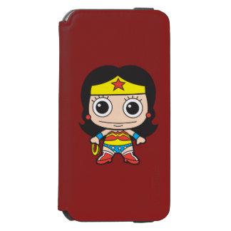 Mujer Maravilla de Chibi Funda Billetera Para iPhone 6 Watson