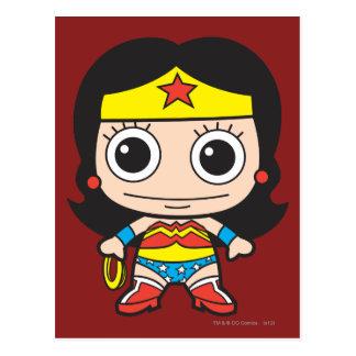 Mujer Maravilla de Chibi Postal