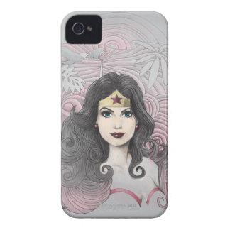 Mujer Maravilla Eagle y árboles iPhone 4 Case-Mate Coberturas