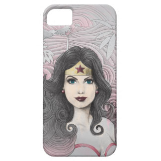 Mujer Maravilla Eagle y árboles iPhone 5 Carcasa