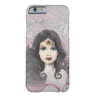 Mujer Maravilla Eagle y árboles Funda Barely There iPhone 6