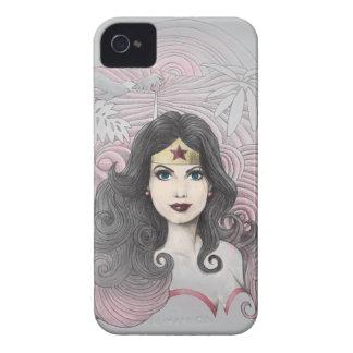 Mujer Maravilla Eagle y árboles iPhone 4 Carcasas