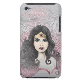Mujer Maravilla Eagle y árboles iPod Touch Protectores