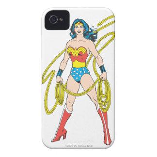 Mujer Maravilla iPhone 4 Case-Mate Carcasas
