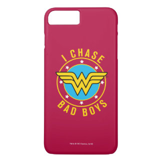 Mujer Maravilla - persigo a chicos malos Funda iPhone 7 Plus