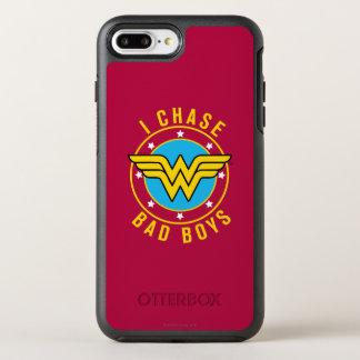 Mujer Maravilla - persigo a chicos malos Funda OtterBox Symmetry Para iPhone 7 Plus