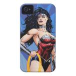 Mujer Maravilla y espada Case-Mate iPhone 4 Funda