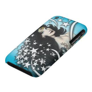Mujer Maravilla y estrellas iPhone 3 Case-Mate Protector