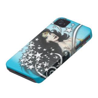 Mujer Maravilla y estrellas iPhone 4 Case-Mate Cárcasa