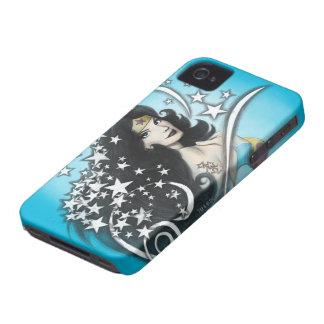 Mujer Maravilla y estrellas iPhone 4 Case-Mate Carcasas