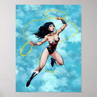 Mujer Maravilla y lazo de la verdad Posters