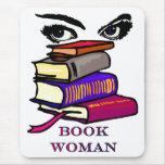 Mujer Mousepad del libro Alfombrilla De Ratones