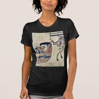 Mujer noble por Hosoda, Eishi Ukiyoe Camisetas
