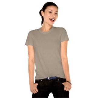 Mujer orgánica de la camiseta del alma del Gumbo