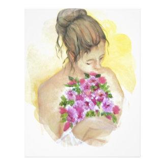 Mujer Plantillas De Membrete