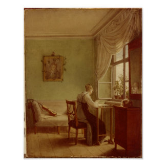 Mujer que borda, 1812 posters
