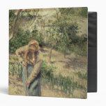 Mujer que cava en una huerta, 1882