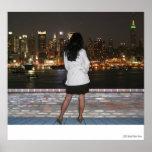 Mujer que falta Nueva York Posters