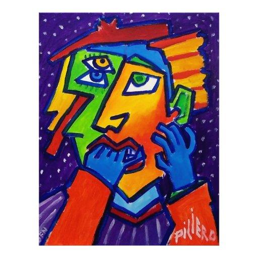 Mujer que llora D 1 por Piliero Membrete
